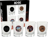 AC/DC Shot Glass Set Novelty