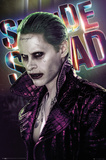 Suicide Squad- Joker Close-Up Plakaty