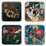Wassily Kandinsky Coaster Set 12 Coaster