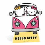 Hello Kitty Camper Stand-in Silhouettes découpées en carton