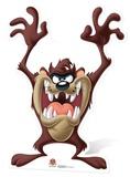 Looney Tunes - Tazmanian Devil Cardboard Cutout Pappfigurer