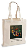 Wassily Kandinsky - Counterweights, 1926 Tote Bag Borsa shopping