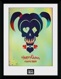 Suicide Squad Harley Quinn Skull Wydruk kolekcjonerski