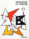 Stabiles I (Cover) from Derriere Le Miroir Reproductions de collection par Alexander Calder
