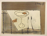 Table Setting Collectable Print by Bernard Buffet