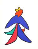 Stabiles VII (Bird) from Derriere Le Miroir Reproductions de collection par Alexander Calder