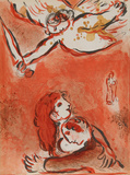 "The Maid of Israel from ""Drawings for the Bible"" Premium Edition by Marc Chagall"