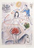 Danseuse au Flutiste Premium Edition by Marc Chagall