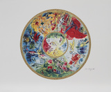 Paris Opera Ceiling Premium Edition by Marc Chagall