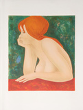Red Head Collectable Print by Alain Bonnefoit