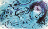 La Joeur de Flute Premium Edition by Marc Chagall