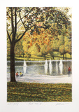 Fall II Collectable Print by Harold Altman