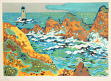 Lighthouse Collectable Print by Guy Charon