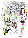 Le jeu des Acrobates Premium Edition by Marc Chagall