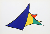 Derrier le Miroir (Study for Sculpture I) Collectable Print by Alexander Calder