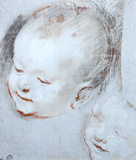Tete d Enfant Collectable Print by Federico Barocci
