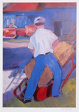Farm Work Collectable Print by Zora Buchanan