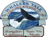 Whaler's Tale Wood Sign