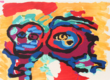 Mother and Little Boy Premium Edition by Karel Appel