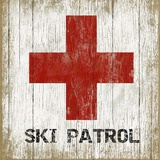 Ski Patrol 1 Wood Sign