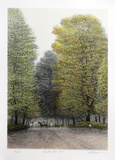 Bridle Path Collectable Print by Harold Altman