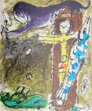 Le Christ l'Horloge Premium Edition by Marc Chagall