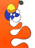 Abstract III from Derriere Le Miroir Reproductions de collection par Alexander Calder