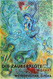 Metropolitan Opera, The Magic Flute Collectable Print by Marc Chagall
