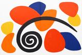 Abstract II from Derriere Le Miroir Reproductions de collection par Alexander Calder