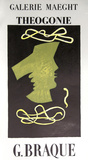 Galerie Maeght - Theogonie Collectable Print by Georges Braque