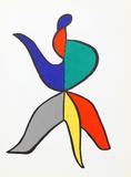 Stabiles VIII (Dancer) from Derriere Le Miroir Reproductions de collection par Alexander Calder
