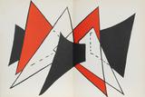Derrier le Miroir (Study for Sculpture II) Reproductions de collection par Alexander Calder