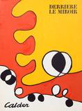 Abstract (Cover) from Derriere Le Miroir Reproductions de collection par Alexander Calder