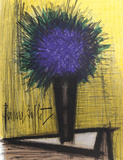 Purple Flower Collectable Print by Bernard Buffet