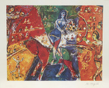 Circus Horse Riders Premium Edition by Marc Chagall