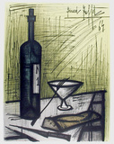 Bread and Wine Collectable Print by Bernard Buffet