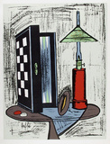 Game Table Collectable Print by Bernard Buffet