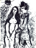 Le Clown Amoureux Premium Edition by Marc Chagall