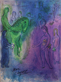 Arrival of Dionysophanes Premium Edition by Marc Chagall
