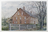 Barn Collectable Print by William Collier