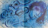 Le Joeur de Flute Premium Edition by Marc Chagall