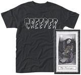 Creeper- Death Card (Front/Back) T-shirt