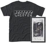 Creeper- Death Card (Front/Back) Magliette