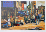 Broadview and Gerrard Collectable Print by Neville Clarke
