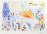 La Procession de Noel Premium Edition by Marc Chagall