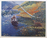Rowboat Collectable Print by David Cain