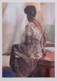 Jacqueline in Solitude Collectable Print by Neville Clarke