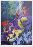 Flower Stall Collectable Print by Zora Buchanan