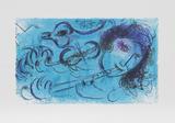 Le Jouer de Flute Premium Edition by Marc Chagall