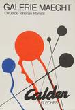 Calder Exhibition at Galerie Maeght (Fleches) Reproductions de collection premium par Alexander Calder